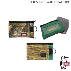 CHUMS チャムス SURFSHORTS WALLET PATTERNS サーフショーツ ウォレット 小銭入れ コインケース パスケース extreme-ex
