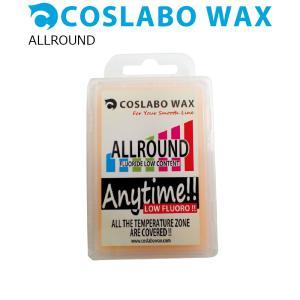 COSLABO Wax EASYWAXシリーズ ALLROUND(60g) (滑走ワックス) コスラボワックス ウインタースポーツ スノーボード メンテナンス|extreme-ex