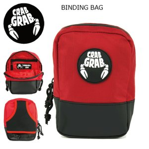 CRAB GRAB BINDING BAG BLACK/RED クラブグラブ バインディングバック ハイバックパック2017 2017-18|extreme-ex