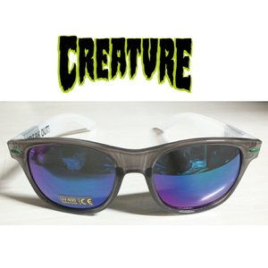 CREATURE Freakerds Eighties Sunglasses Black/White クリ―チャー サングラス|extreme-ex