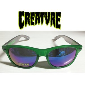 CREATURE Freakerds Eighties Sunglasses Green/Black クリ―チャー サングラス|extreme-ex