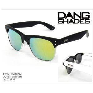 DANG Shades EASTHAM Black Soft x Gold vidg00093 カラーレンズ トイサングラス ダン・シェイディーズ|extreme-ex