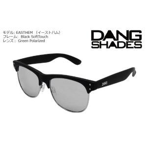 DANG Shades EASTHAM Black Soft x Chrome Mirror vidg00282 ミラーレンズ トイサングラス ダン・シェイディーズ|extreme-ex