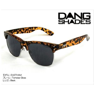 DANG Shades EASTHAM Tortoise Gloss x Black vidg00091 カラーレンズ トイサングラス ダン・シェイディーズ|extreme-ex