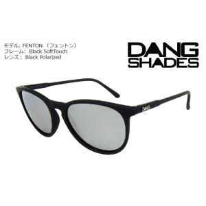 DANG Shades FENTON 偏光レンズ Black Soft x Chrome Mirror Polarized Lens vidg00293 ミラーレンズ トイサングラス ダン・シェイディーズ extreme-ex