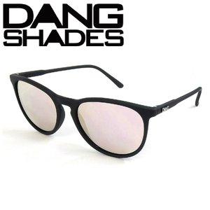 DANG Shades FENTON Black Soft x Rose Mirror vidg00334 ミラーレンズ トイサングラス ダン・シェイディーズ extreme-ex