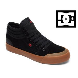 17FW DC shoes EVAN SMITH HI S BGM (BLACK/GUM) ディーシー シューズ エヴァンスミス ショップ限定 SK8 スケートシューズ|extreme-ex