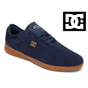 17FW DC shoes NEW JACK S NGM (NAVY/GUM) ディーシー シューズ チームモデル ショップ限定 SK8 スケートシューズ|extreme-ex