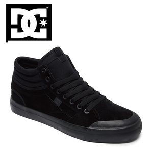 17HO DC shoes EVAN SMITH HI S BB2 (BLACK/BLACK) ディーシー シューズ エヴァンスミス ショップ限定 SK8 スケートシューズ|extreme-ex