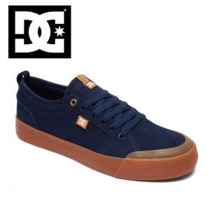 17HO DC shoes EVAN SMITH S NGM (NAVY/GUM) ディーシー シューズ エヴァンスミス ショップ限定 SK8 スケートシューズ|extreme-ex