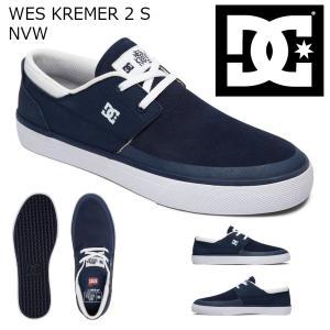 18SP DC Shoes WES KREMER 2 S NVW (NAVY/WHITE) ディーシーシューズ ウエスクレーマー ショップ限定 Sシリーズ SK8|extreme-ex