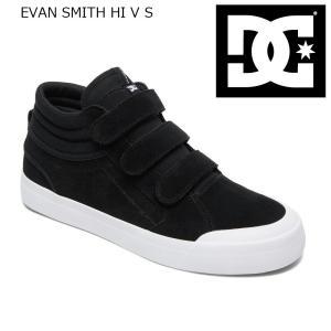 18FW DC Shoes EVAN SMITH Hi V S BKW(BlackWhite) ディーシーシューズ エヴァンスミス ショップ限定 Sシリーズ SK8|extreme-ex
