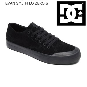 19FW DC Shoes EVAN SMITH Lo Zero S 3BK(AllBlack) ディーシー シューズ エヴァンスミス ショップ限定 Sシリーズ SK8|extreme-ex