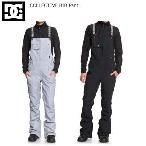 予約商品 19 DC Shoes COLLECTIVE BIB Pant (W) ディーシー コレクティブ ビブ パンツ スノーボードウエア 18-19 2018 19Snow|extreme-ex
