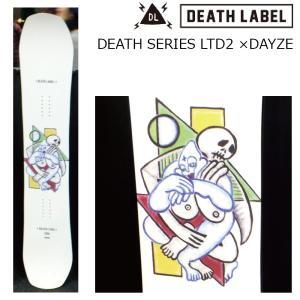 プレチューン付 19 DEATH LABEL DEATH SERIES LTD2 ×DAYZE 151cm メンズ 3サイズ ミニキャンバー 19Snow スノーボード ソールカバー付|extreme-ex
