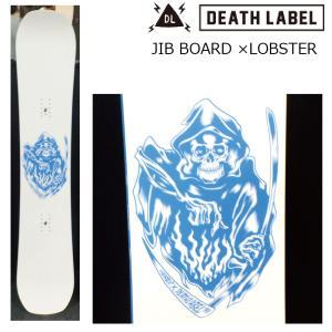 プレチューン付 19 DEATH LABEL JIB BOARD ×LOBSTER メンズ 153cm ミニキャンバー 19Snow スノーボード ソールカバー付|extreme-ex