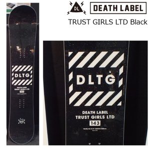 予約商品 5大特典付 19 DEATH LABEL TRUST GIRLS LTD Black (W)  ウーメンズ 5サイズ ダブルキャンバー 19Snow スノーボード|extreme-ex