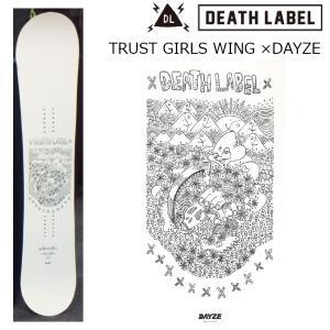 19 DEATH LABEL TRUST GIRLS WING ×DAYZE (W) ウーメンズ 2サイズ ミニキャンバー 19Snow スノーボード|extreme-ex