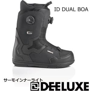 予約商品 21-22 DEELUXE ディーラックス ID DUAL BOA TF アイディー デュアルボア ティーエフ BLACK ダブルボア サーモインナーライト メンズ レディース|extreme-ex