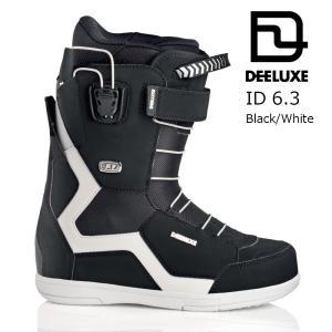 18 DEELUXE ID 6.3 TF Black/White ディーラックス アイディ―  サーモインナー 熱成型 スノーボード ブーツ 17-18 2017 2017-18|extreme-ex