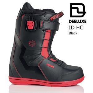 18 DEELUXE ID HC TF Black/Red ディーラックス アイディ― エイチシー サーモインナー 熱成型 スノーボード ブーツ 17-18 2017 2017-18|extreme-ex