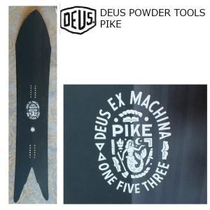 予約商品 5大特典付 19 DEUS POWDER TOOLS PIKE 1535mm BLACK デウス エクス マキナ パイク パウダー フリーライド 19Snow スノーボード|extreme-ex