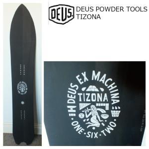 予約商品 5大特典付 19 DEUS POWDER TOOLS TIZONA 1620mm BLACK デウス エクス マキナ ティゾナ パウダー フリーライド 19Snow スノーボード|extreme-ex