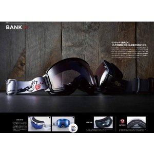 19 DICE Goggle BANK MNV(744)/アイスミラー/ウルトラライトパープル調光 ダイス バンク ボードゴーグル BK84265MBK 18-19|extreme-ex