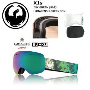 18 DRAGON Goggle X1s INK GREEN/LumaLanes J.Green Ion アジアンフィット ドラゴン エックスワンエス ゴーグル ボードゴーグル 902 17-18 2017-18|extreme-ex
