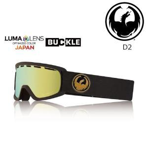 19 DRAGON Goggle D2 GOLD /Lumalanes J.GlodIon (Y) アジアンフィット ドラゴン ディートゥー ゴーグル ボードゴーグル 802 18-19|extreme-ex