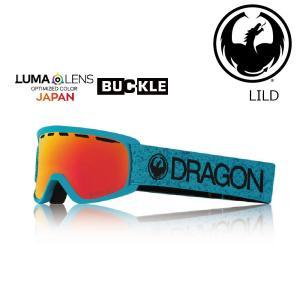 19 DRAGON Goggle LILD BLUE /Lumalanes J.RedIon (K) アジアンフィット ドラゴン ディートゥー ゴーグル ボードゴーグル 602 18-19|extreme-ex