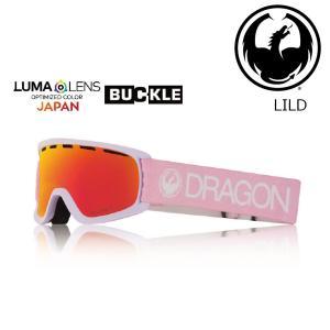 19 DRAGON Goggle LILD LIGHT PINK /Lumalanes J.RedIon (K) アジアンフィット ドラゴン ディートゥー ゴーグル ボードゴーグル 601 18-19|extreme-ex