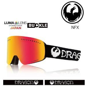 19 DRAGON Goggle NFX CLASSIC /Lumalanes J.RedIon アジアンフィット ドラゴン エヌエフエックス ゴーグル ボードゴーグル 012 18-19|extreme-ex