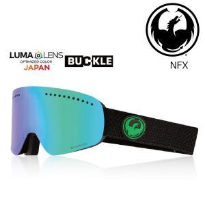 19 DRAGON Goggle NFX ECHO GREEN /Lumalanes J.GreenIon アジアンフィット ドラゴン エヌエフエックス ゴーグル ボードゴーグル 002 18-19|extreme-ex