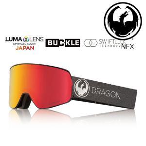 19 DRAGON Goggle NFX ECHO SILVER /Lumalanes J.RedIon アジアンフィット ドラゴン エヌエフエックス ゴーグル ボードゴーグル 001 18-19|extreme-ex