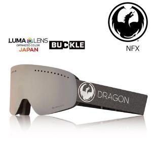 19 DRAGON Goggle NFX ECHO SILVER /Lumalanes J.SilverIon アジアンフィット ドラゴン エヌエフエックス ゴーグル ボードゴーグル 004 18-19|extreme-ex