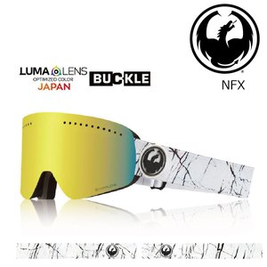 19 DRAGON Goggle NFX JOSSI WELLS /Lumalanes J.GoldIon アジアンフィット ドラゴン エヌエフエックス ゴーグル ボードゴーグル 008 18-19|extreme-ex