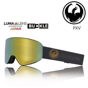19 DRAGON Goggle PXV ECHO GOLD /Lumalanes J.GoldIon アジアンフィット ドラゴン ピーエックスブイ ゴーグル ボードゴーグル H03 18-19|extreme-ex