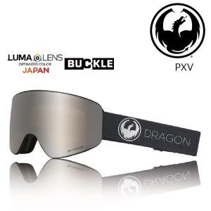 19 DRAGON Goggle PXV ECHO SILVER /Lumalanes J.SliverIon アジアンフィット ドラゴン ピーエックスブイ ゴーグル ボードゴーグル H02 18-19|extreme-ex