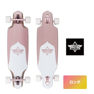 DUSTERS スケボー 9.125インチ 【 Dusters Channel Rose Gold 】 クルーザー コンプリート スケートボード SKATEBOARD ソフトウィール|extreme-ex