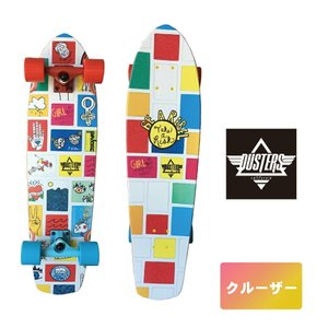 DUSTERS スケボー 8.25インチ 【 Dusters Dusters Girl Power GN4LW Cruiser  】 クルーザー コンプリート スケートボード SKATEBOARD ソフトウィール|extreme-ex