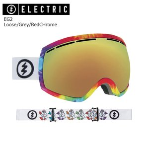 19 ELECTRIC Goggle EG2 Loose/Grey/RedCHrome JP アジアンフィット エレクトリック イージートウ― ボードゴーグル 2018 2018-19|extreme-ex