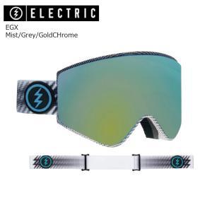 19 ELECTRIC Goggle EGX Mist/Grey/GoldCHrome JP アジアンフィット エレクトリック イージーエックス ボードゴーグル 2018 2018-19|extreme-ex