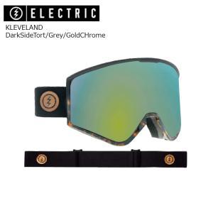 19 ELECTRIC Goggle KLEVELAND DarkSideTort/Grey/GoldCHrome JP アジアンフィット エレクトリック クリーブランド ボードゴーグル 2018 2018-19|extreme-ex