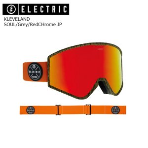19 ELECTRIC Goggle KLEVELAND SOUL/Grey/RedCHrome JP アジアンフィット エレクトリック クリーブランド ボードゴーグル 2018 2018-19|extreme-ex