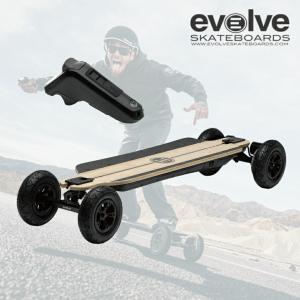電動スケートボード Evolve SkateBoards GTR Bamboo All Trrain 全地形対応 39インチ リモコン バンブーデッキ エボルブ スケートボード 電スケ スケボー extreme-ex