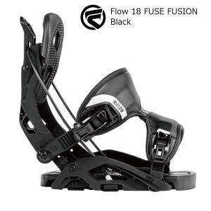 18 FLOW FUSE FUSION B/D Black フロー フューズ フュージョン スノーボード バインディング 17-18 2018|extreme-ex