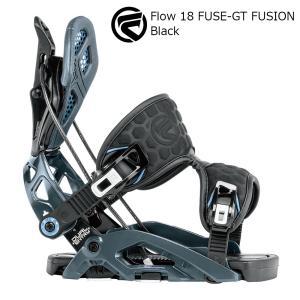 18 FLOW FUSE-GT FUSION B/D Black フローフューズジーティー フュージョン  スノーボード バインディング 17-18 2017-18|extreme-ex