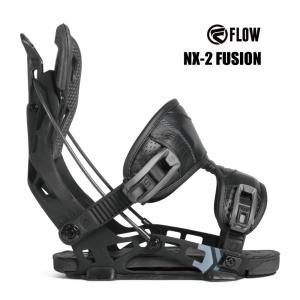 予約商品 3大特典付 19 FLOW NX2 FUSION B/D BLACK フロー エヌエックストゥー フュージョン スノーボード バインディング 18-19 2018|extreme-ex