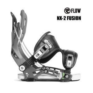 予約商品 3大特典付 19 FLOW NX2 FUSION B/D SPACEGREY フロー エヌエックストゥー フュージョン スノーボード バインディング 18-19 2018|extreme-ex